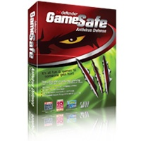 "For the ultimate secured gaming experience, nothing beats BitDefender's GameSafe! It defends your PC from viruses, spyware and rootkits without affecting ""in-game"" responsiveness – due to its minimal impact on processing power, memory and virtual memory. When activated, GameSafe will postpone all updates, as well as block alerts and pop-ups, so that you will never be interrupted during game play. In addition, its firewall protects your Wi-Fi connection from unauthorized access."