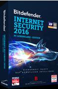 Bitdefender Internet Security 2016 (PC Lifetime Edition, 1 PC)