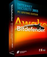 Bitdefender Internet Security 2013 (PC Lifetime Edition, 1 PC)